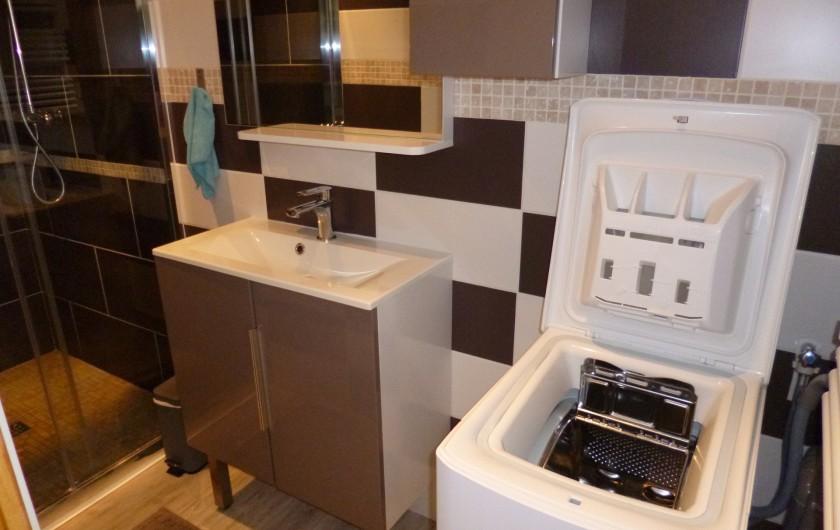 Location de vacances - Appartement à Berck - Chambre 2 lit tiroir ouvert