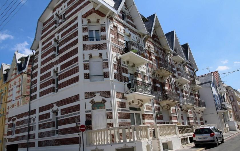 Location de vacances - Appartement à Berck - WC suspendu grande facilité de nettoyage & pièce séparée