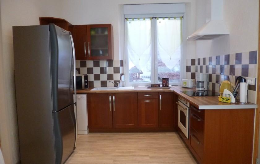 Location de vacances - Appartement à Berck - cuisine américaine