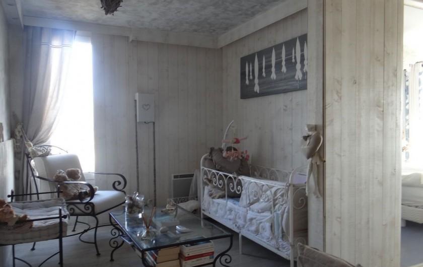 Location de vacances - Appartement à Fort-Mahon-Plage - Lit Bébé ou petit enfant avec fermeture possible