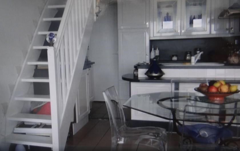 Location de vacances - Appartement à Fort-Mahon-Plage - Cuisine entièrement équipée . Lave vaisselle, lave-linge, four, frigo....
