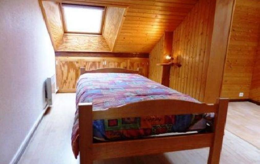 Location de vacances - Gîte à La Bresse - lit d'une personne