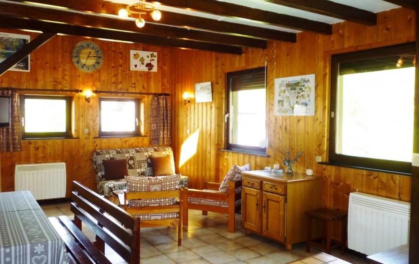 Location de vacances - Gîte à La Bresse - Salon