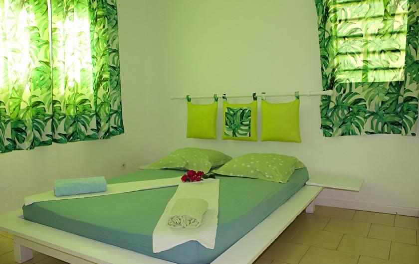 Location de vacances - Villa à Le Vauclin - Chambre N°1. F4 gauche