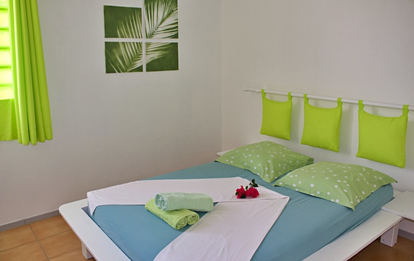 Location de vacances - Villa à Le Vauclin - F4 droite