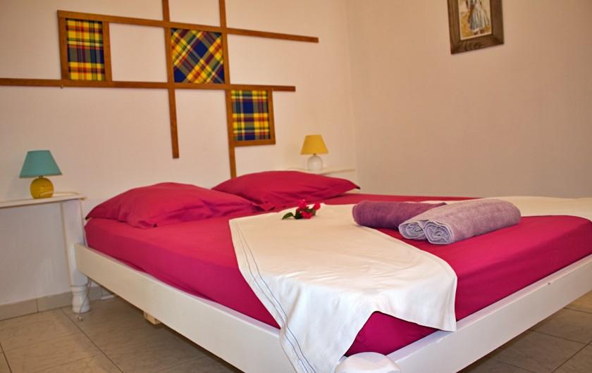 Location de vacances - Villa à Le Vauclin - Chambre N°3. F4 droite