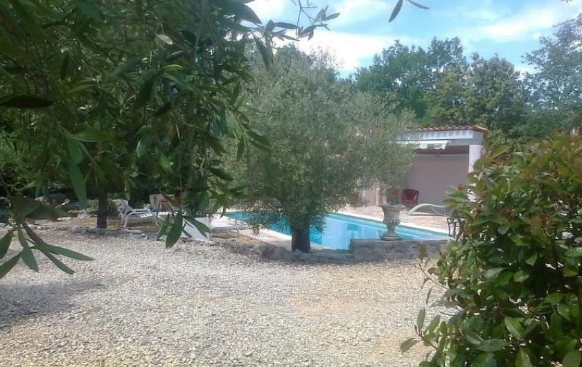 Location de vacances - Villa à Labeaume - piscine