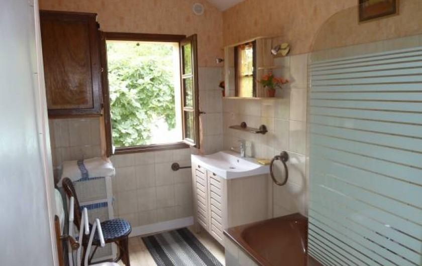 Location de vacances - Gîte à Terrasson-Lavilledieu - SALLE  DE BAIN