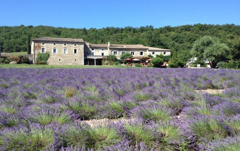 Location de vacances - Gîte à Francillon-sur-Roubion - LA BATISSE