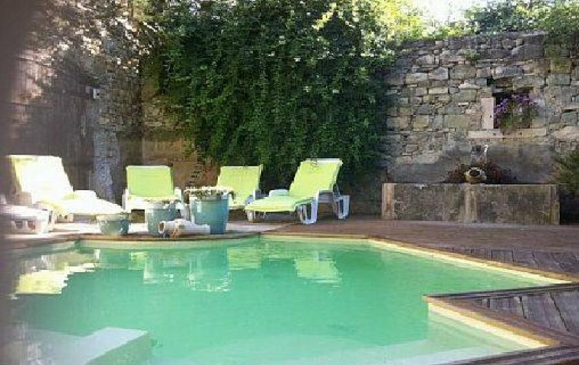 Location de vacances - Gîte à Francillon-sur-Roubion - PISCINE
