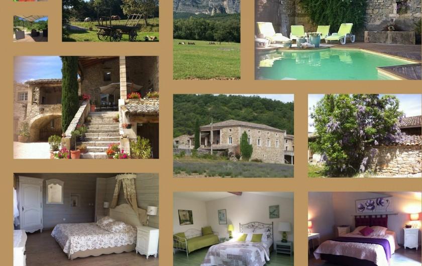 Location de vacances - Gîte à Francillon-sur-Roubion - Le Domaine du Quinson