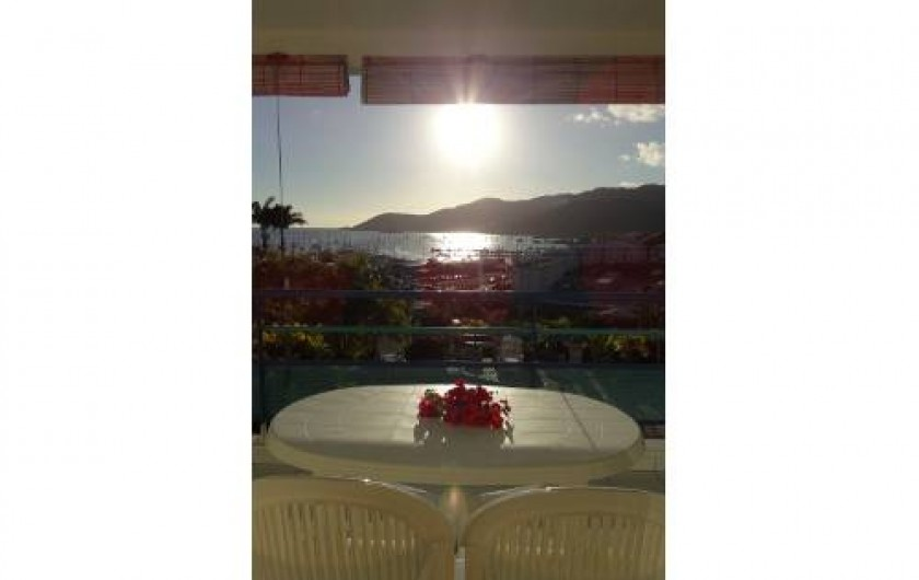 Location de vacances - Appartement à Le Marin