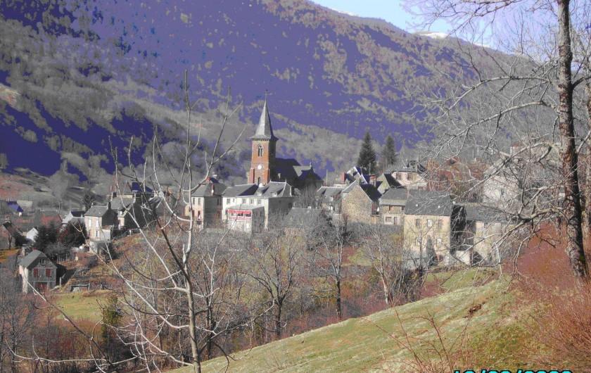 Location de vacances - Gîte à Le Falgoux - Village du Falgoux