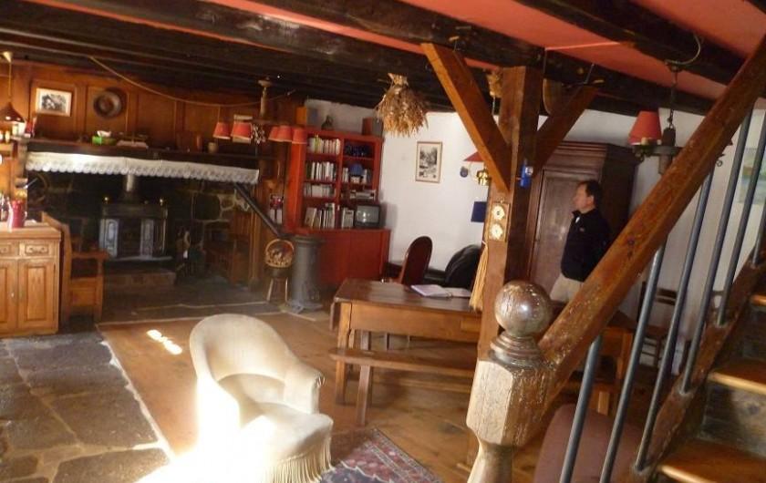 Location de vacances - Gîte à Le Falgoux - Pièce principale
