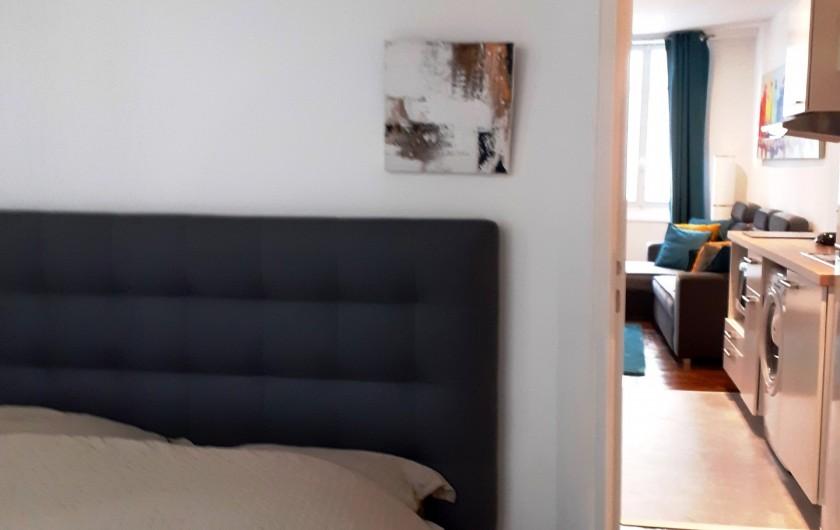 Location de vacances - Appartement à Dijon - Chambre