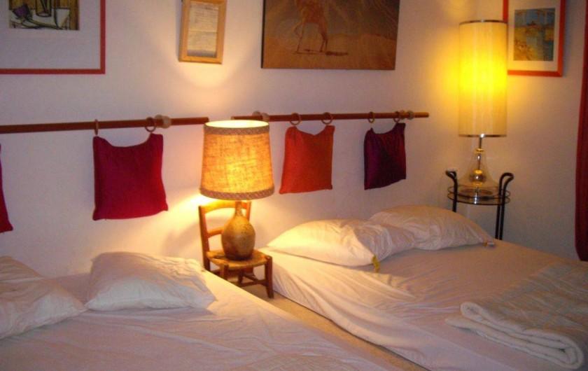 Location de vacances - Villa à Aix-en-Provence - Chambre Juniors