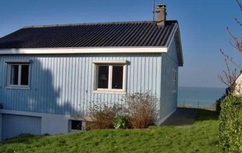 Location de vacances - Maison - Villa à Quiberville - Vue sur la mer