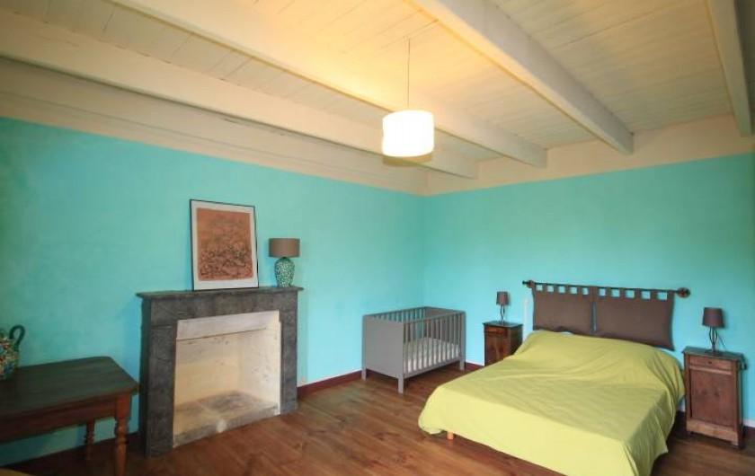 Location de vacances - Maison - Villa à Clohars-Carnoët - chambre verte
