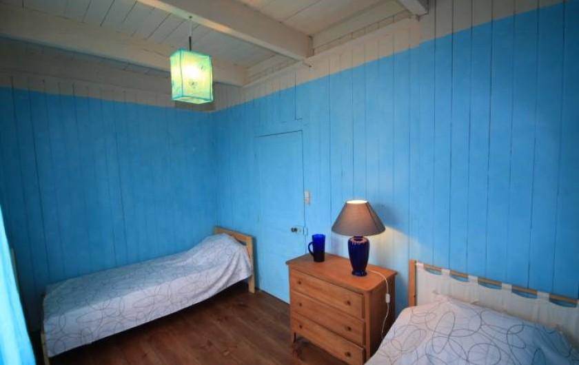 Location de vacances - Maison - Villa à Clohars-Carnoët - chambre bleue