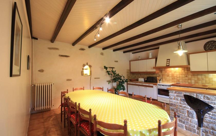 Location de vacances - Maison - Villa à Clohars-Carnoët - cuisine