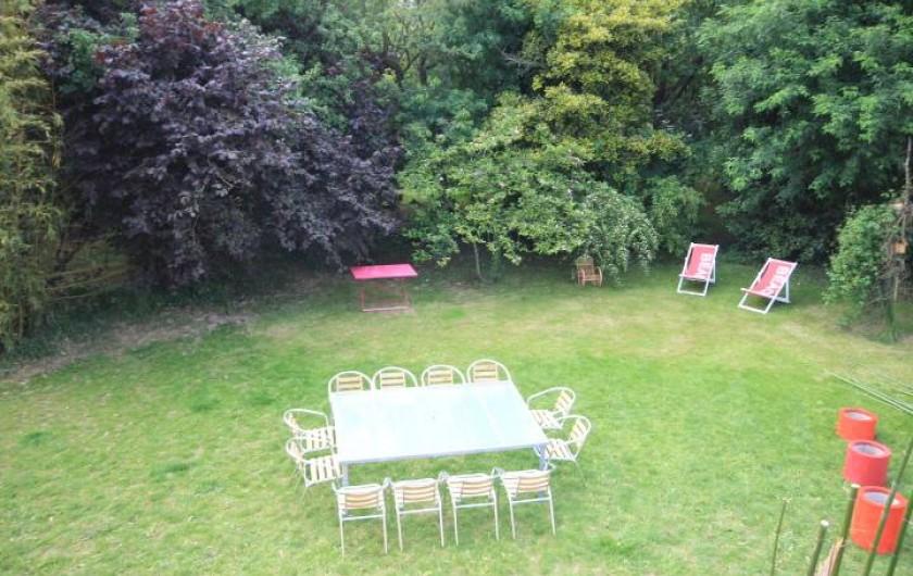 Location de vacances - Maison - Villa à Clohars-Carnoët - jardin
