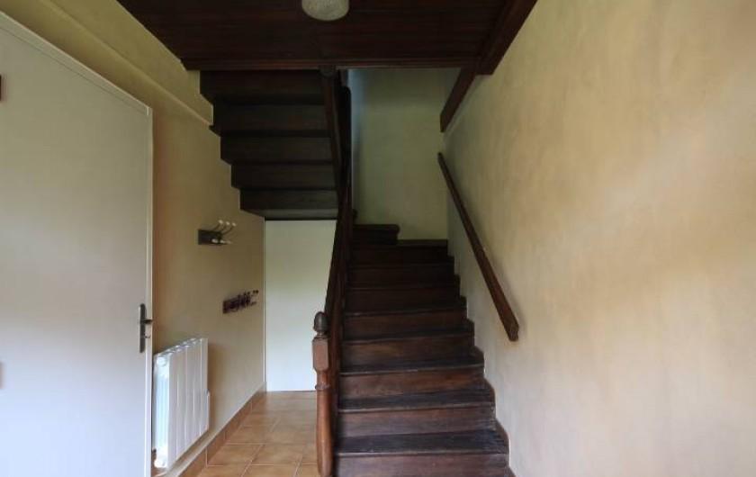 Location de vacances - Maison - Villa à Clohars-Carnoët - couloir