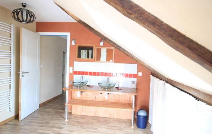 Location de vacances - Maison - Villa à Clohars-Carnoët - salle de bain