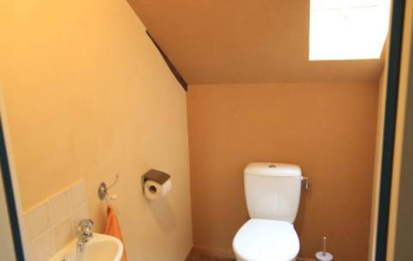 Location de vacances - Maison - Villa à Clohars-Carnoët - toilette