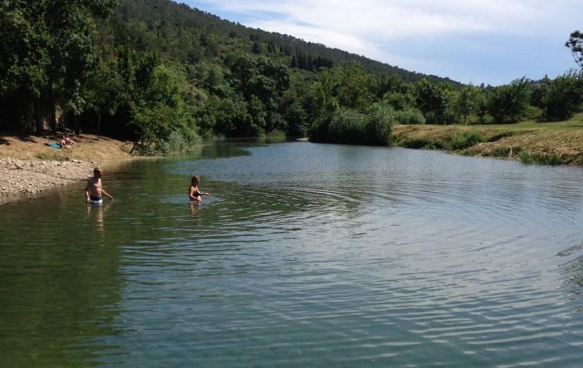 Location de vacances - Appartement à Lagrasse - Beignade a Lagrasse