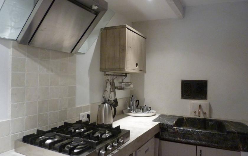 Location de vacances - Appartement à Lagrasse - Cuisine