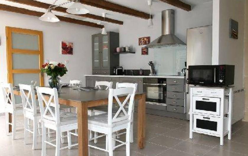 Location de vacances - Gîte à Plonéour-Lanvern - Le séjour