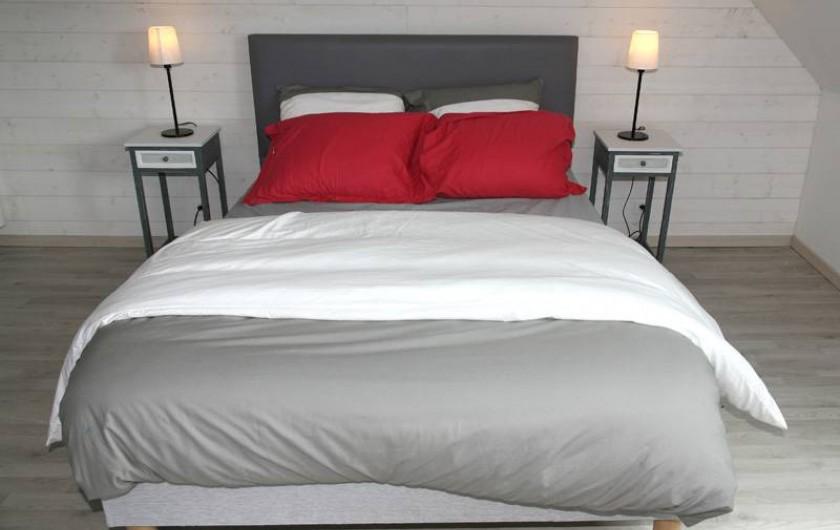 Location de vacances - Gîte à Plonéour-Lanvern - Chambre à l'étage