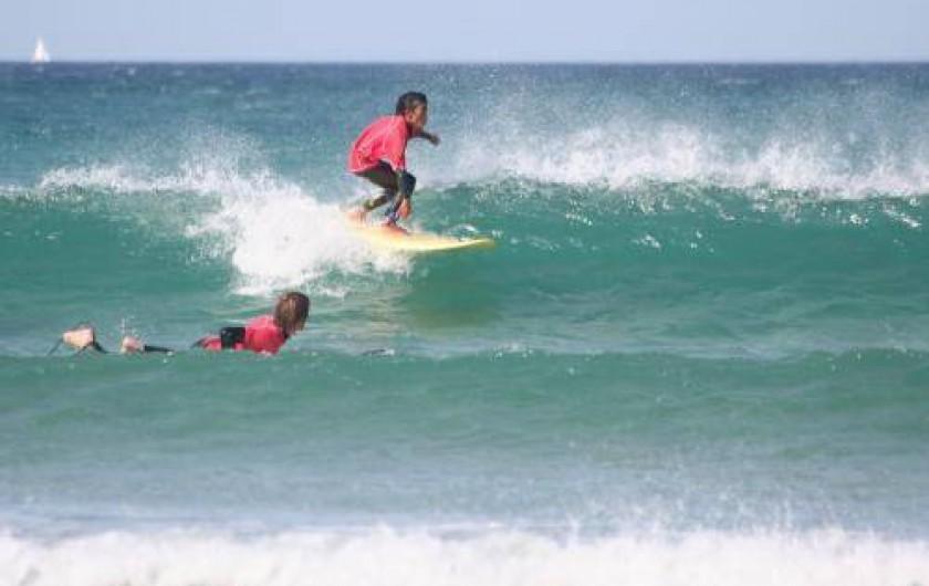 Location de vacances - Maison - Villa à Saint-Jean-Trolimon - Paradis du surf en Bretagne