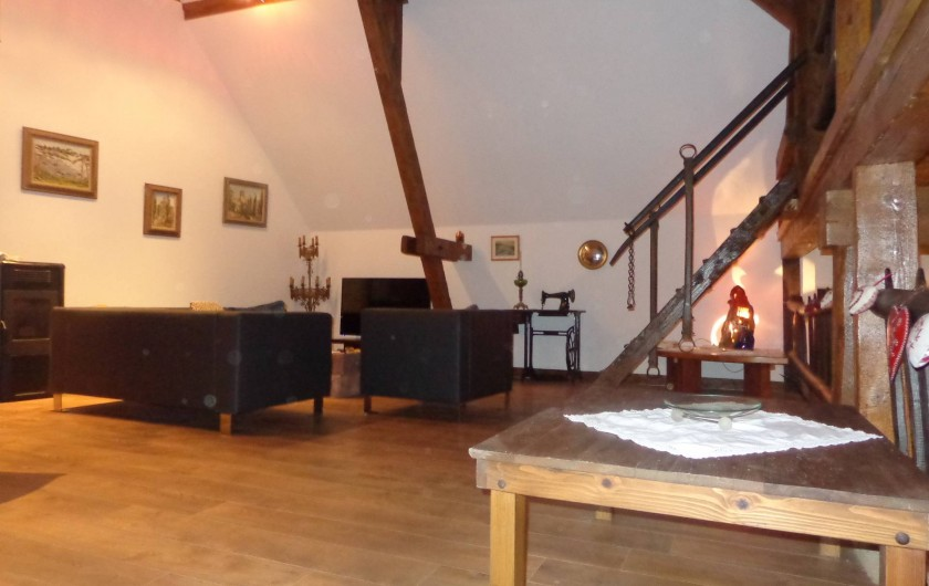 Location de vacances - Gîte à Olwisheim - salon-séjour