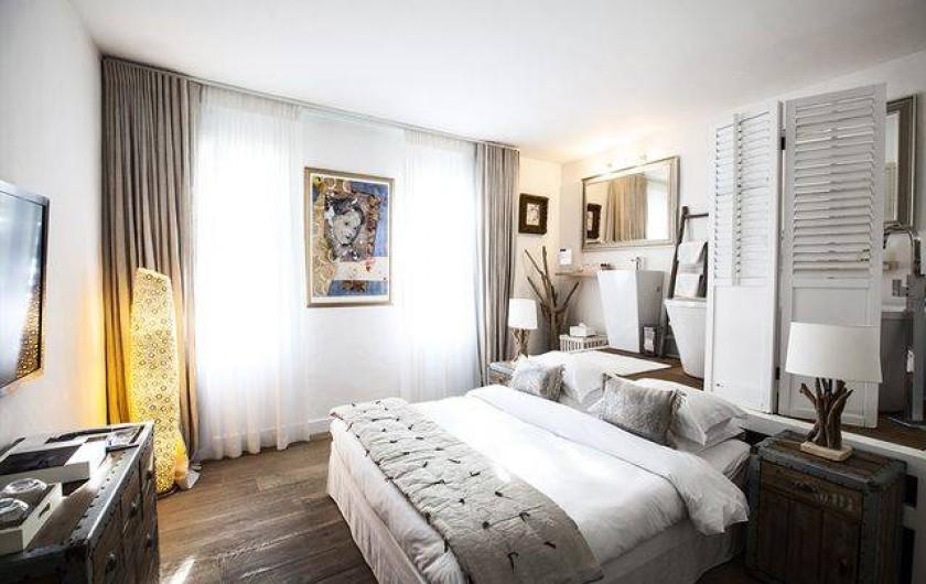 Location de vacances - Chambre d'hôtes à Aigues-Mortes - Rose