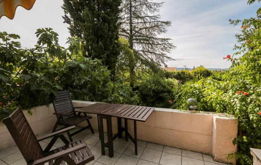 Location de vacances - Villa à Forcalquier - La terrasse