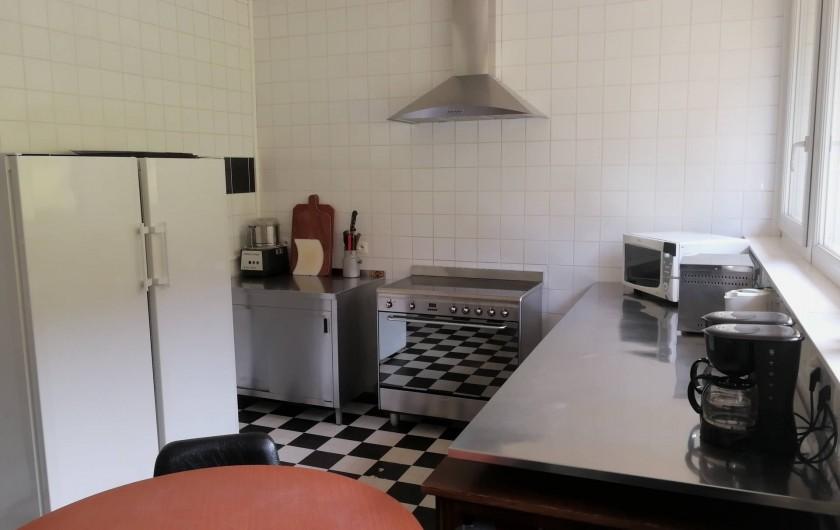 Location de vacances - Gîte à Bussang - cuisine