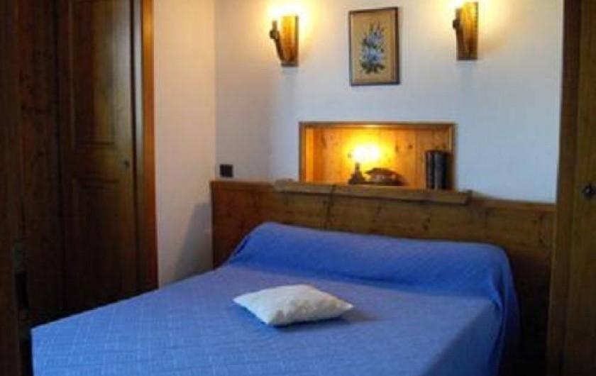 Location de vacances - Appartement à Combloux - Chambre 1