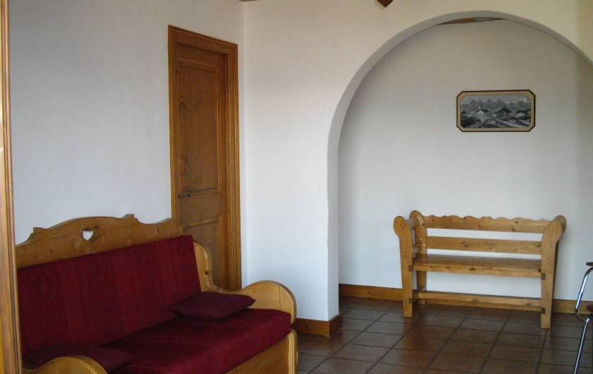 Location de vacances - Appartement à Combloux - Pièce principale