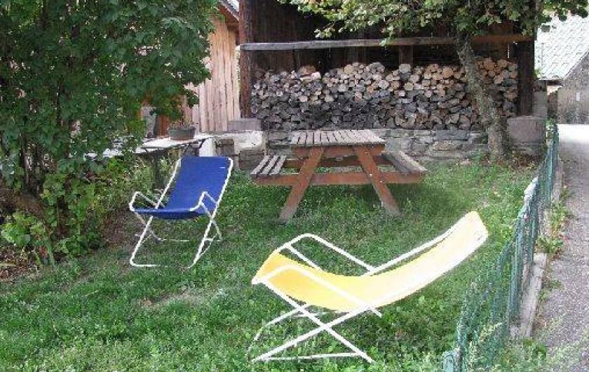 Location de vacances - Chalet à Bellentre