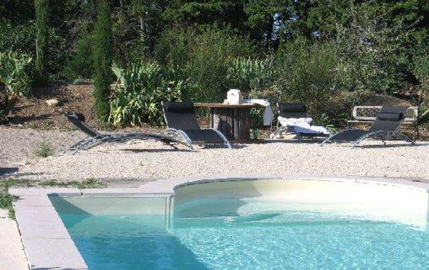 Location de vacances - Gîte à Portes-en-Valdaine - La piscine