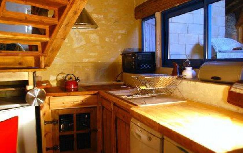 Location de vacances - Gîte à Portes-en-Valdaine - La cuisine