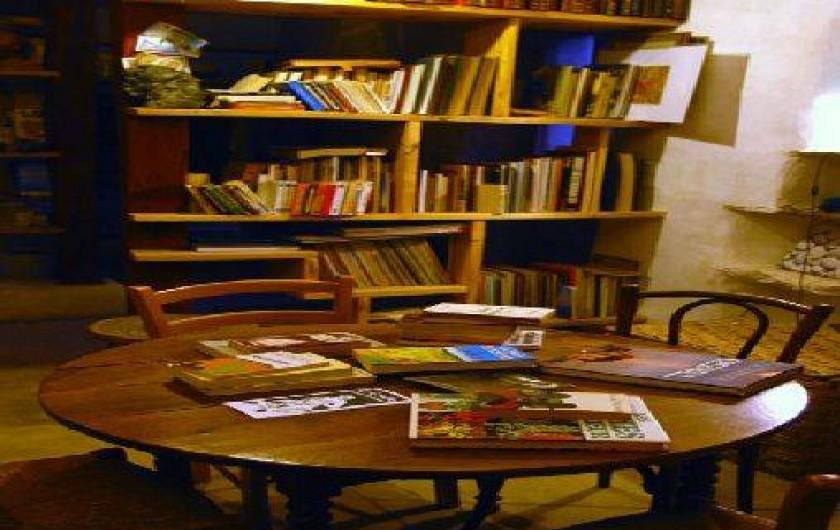 Location de vacances - Gîte à Portes-en-Valdaine - La bibliothèque des Basses Granges