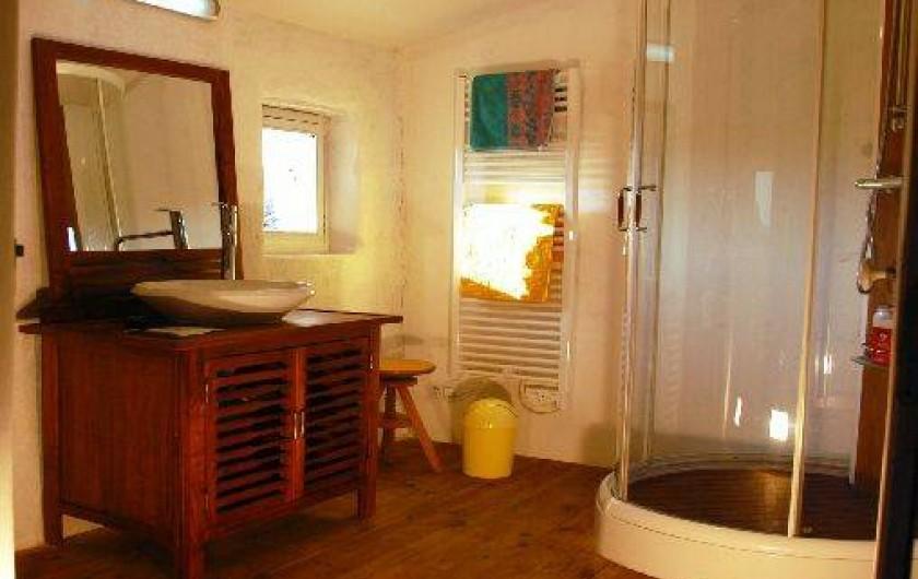 Location de vacances - Gîte à Portes-en-Valdaine - Le cabinet de toilette