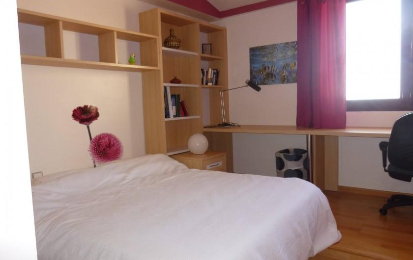 Location de vacances - Villa à Altea - chambre nº 3 au 1er étage. la chambre nº 4 est identique mais à l'inverse
