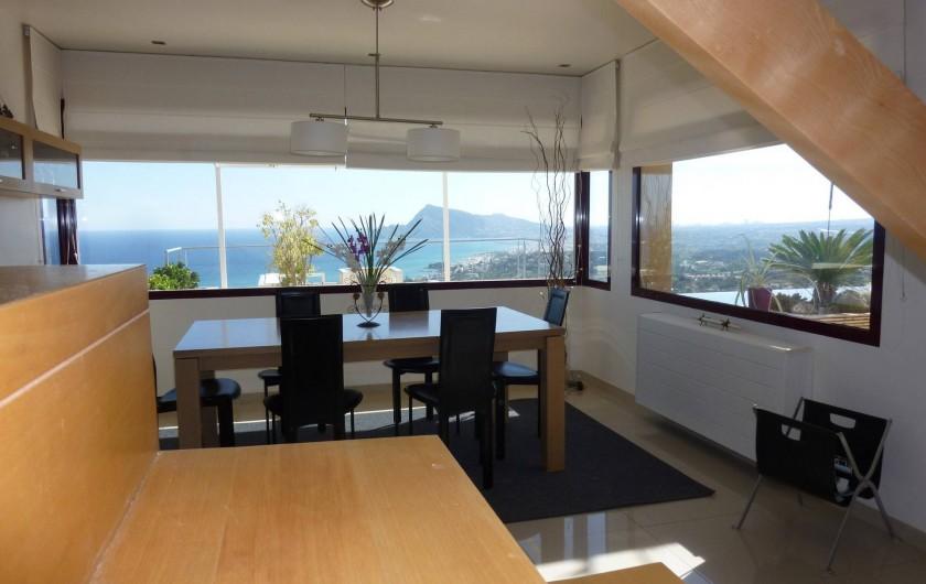 Location de vacances - Villa à Altea - salle à manger