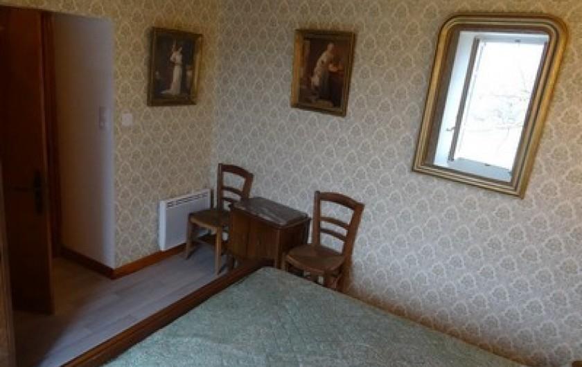 Location de vacances - Gîte à Fontaneilles - Chambre 4 à l'étage lit en 140