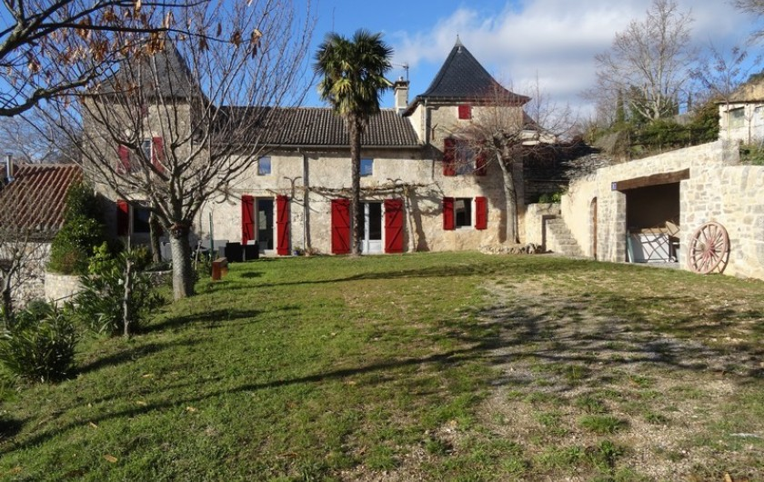 Location de vacances - Gîte à Fontaneilles - Extérieur, terrasse pour profiter du beau temps