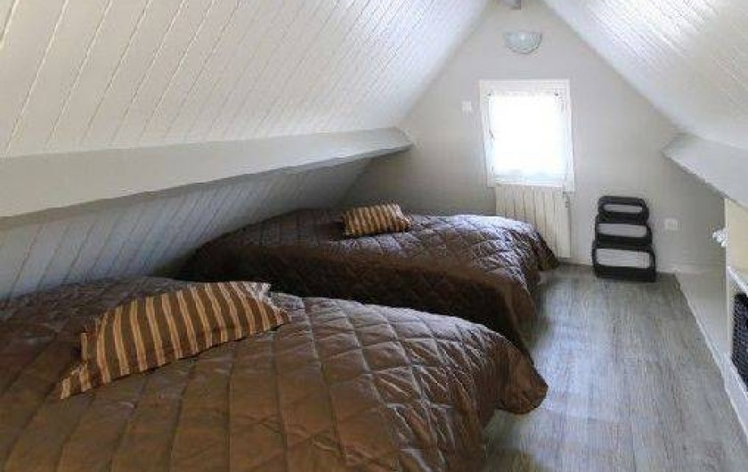Location de vacances - Gîte à Saint-Martin-aux-Buneaux - Chambre Mezzanine 3