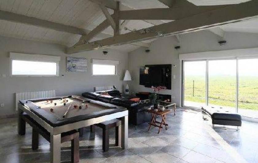 Location de vacances - Gîte à Saint-Martin-aux-Buneaux - Billard